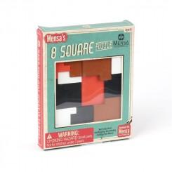 Mensa IQ Puzzle - træ, firkantet