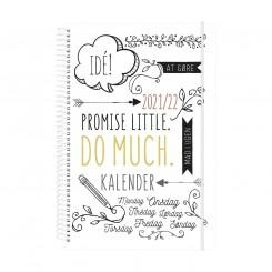 Ugekalender Doodle A5, 2021/2022