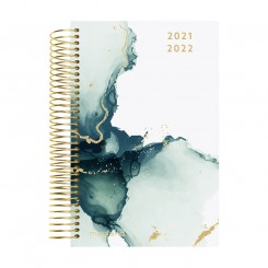 Mini Studiekalender, Story Marmor, 2021/2022