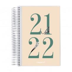 Studiekalender med klap, Gepard, A5 2021/2022
