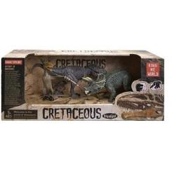 Cretaceous history dinosaur, 3 stk.