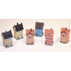 Mini-hus, 5,5x3x2 cm