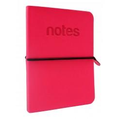 Notesbog C5 Make Notes Koral rød