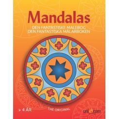 Den Fantastiske Malebog med Mandalas fra 4 år
