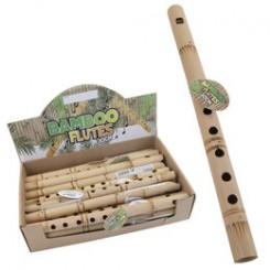 Blokfløjte, bambus. 30 cm