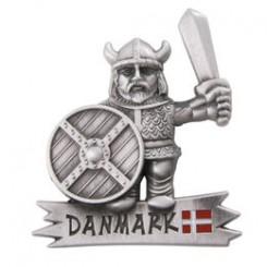 """Magnet viking, """"sølv"""" H5 cm"""