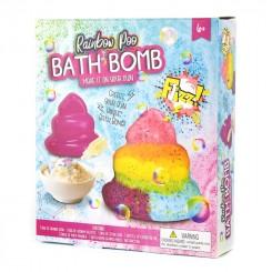 Lav din egen BATH BOMB RAINBOW POO