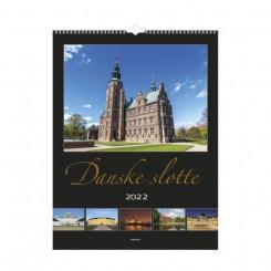Vægkalender, Danske slotte, 2022