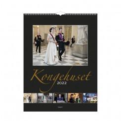 Vægkalender, Kongehuset, 2022