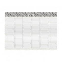 Kartonkalender A4, studie, 21/22