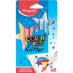 Maped Color' Peps Glitter 8 stk.