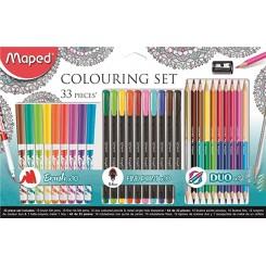 Maped Colouring set 33 stk.