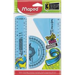 Maped Twist'n'Flex, sæt med 3 stk. 15 cm lineal