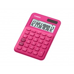 Bordlommeregner CASIO MS-20UC-RD, Pink