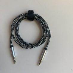 AUX-kabel, 3,5mm minijack, 1 M