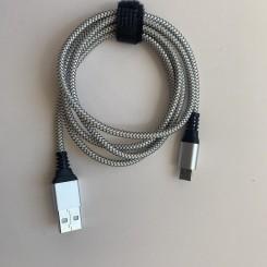 Kabel , 1 meter, 2 amp, micro USB
