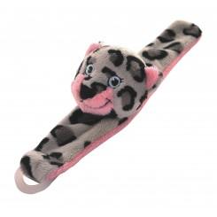 My Wild Friends leopard suttekæde, lyserød