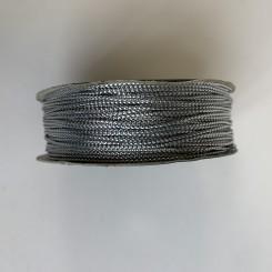 sølvsnor, 1 mm, 20 meter