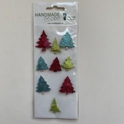 Rössler klistermærker, Juletræer i farver