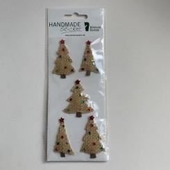 Rössler klistermærker, Juletræer i lærred