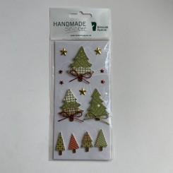 Rössler klistermærker, Juletræer med sløjfe