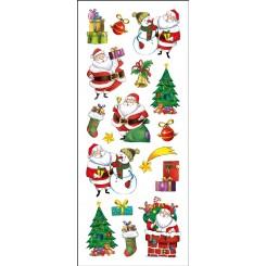 Rössler klistermærker, Julemænd