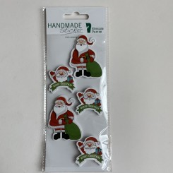 Rössler klistermærker, Julemænd med gavesæk