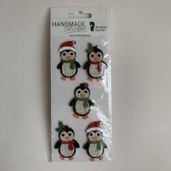 Rössler klistermærker, Pingviner med nissehue