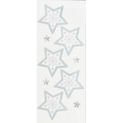Rössler klistermærker, Stjerner med grøn kant