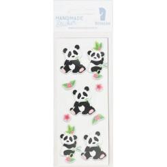Rössler klistermærker, Panda