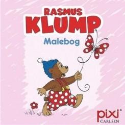 Krea Pixi-serie - Rasmus Klump - Malebog - Lyserød