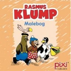 Krea Pixi-serie - Rasmus Klump - Malebog - Orange