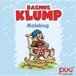 Krea Pixi-serie - Rasmus Klump - Malebog - Blå