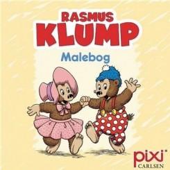 Krea Pixi-serie - Rasmus Klump - Malebog - Gul