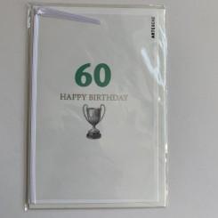 Artebene kort -Happy birthday, 60