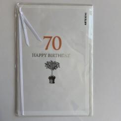 Artebene kort -Happy birthday, 70