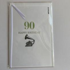 Artebene kort -Happy birthday, 90