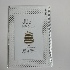 Artebene kort, Just Married -Mr. & Mrs.