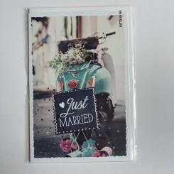 Artebene kort, Just Married -Rasledåser