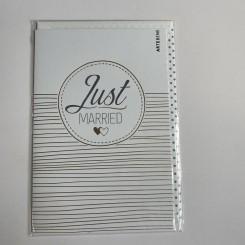 Artebene kort, Just Married, Guld