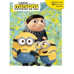 Minions 2 - Legebog - med 10 figurer og legemåtte