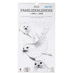 Familie Studiekalender WILD 5-pers. 2021/22