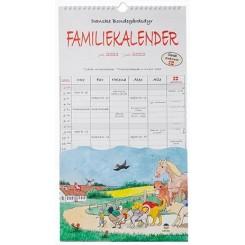 Familie Studiekalender DYR 5-pers. 2021/22
