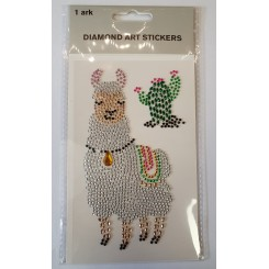 Diamond Art Stickers, Lama