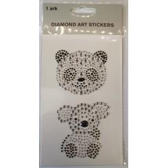 Diamond Art Stickers, Panda