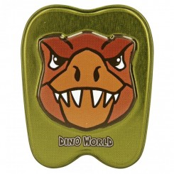 Dino World Tand Æske, brun