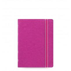 Filofax Notesbog læderlook - A6 - Fuchsia