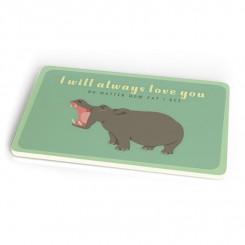 Chic Mic, Smørrebræt, Always Love Hippo