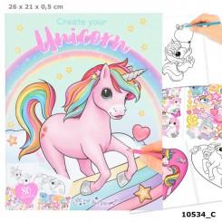 Ylvi & the Minimoomis Unicorn Malebog, Create your Unicorn