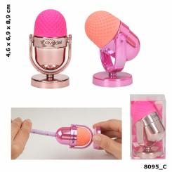 TOPModel Mikrofon viskelæder & blyantspidser, Pink & Orange